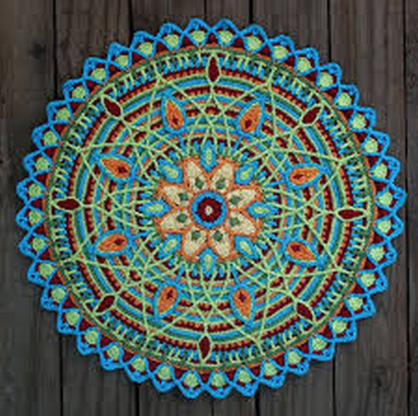 Mandalas au crochet