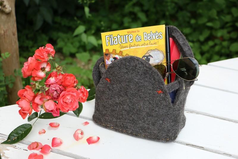 Un sac en feutre made in Filature à réaliser soi-même !