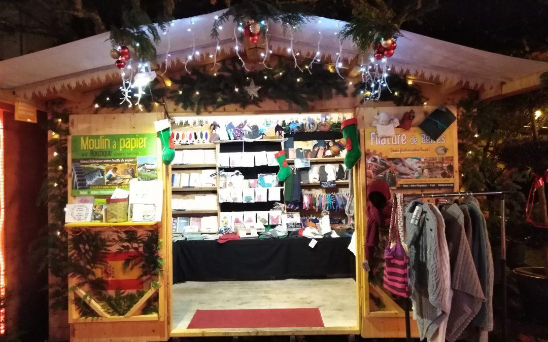 La Filature au Marché de Noël à Sarlat