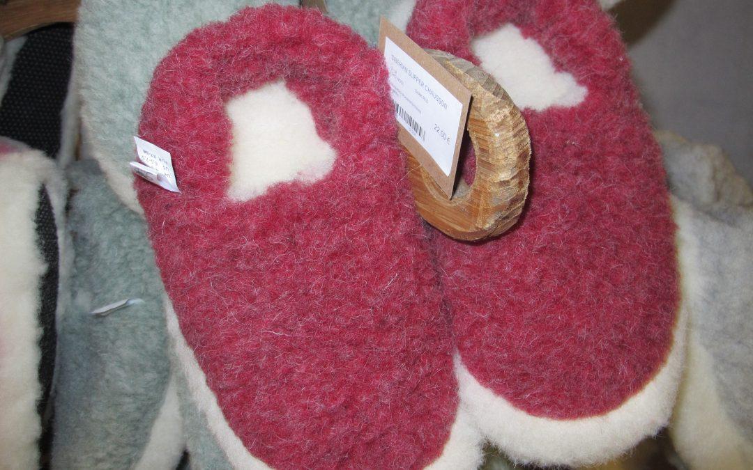 Nouvel arrivage de chaussons